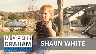 Shaun White on living in a van, rest stop showers