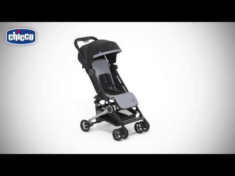 Chicco Mini.Mo 2 Stroller With Bumper Bar Black Night