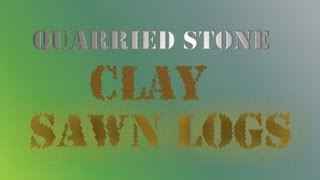 Where To Find Quarried Stone, Clay, & Sawn Logs: Skyrim