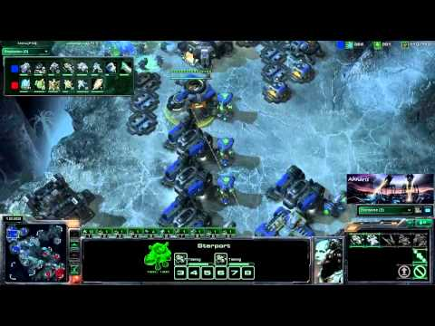 200th UPLOAD! GSL CREVASSE 1v1 P1 Starcraft 2