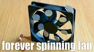 forever spinning fan