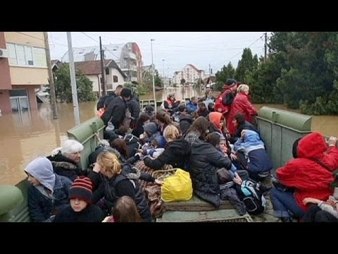 At least 30 dead in Serbia and Bosnia after worst floods in a century