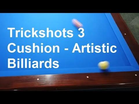 [bida8.vn] Biểu Diển Bida Nghệ thuật Đẳng Cấp Thế Giới | (Trickshots 3 Cushion) - Artistic Billiards