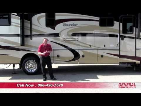 2014 Fleetwood Bounder 35K, Class A Gas Motor Home, presented by General RV Center.