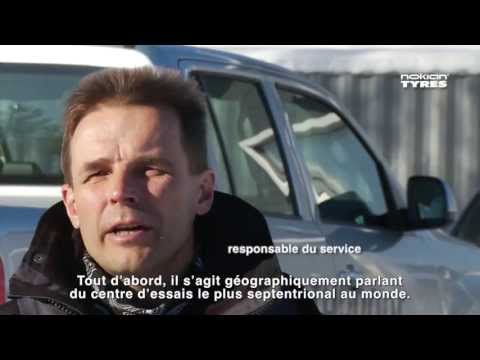 Le centre d'essai Nokian Tyres d'Ivalo (in French)