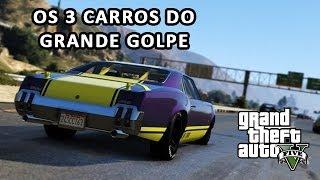 GTA V Grande Golpe Localização Dos Carros De Fuga- GTA 5