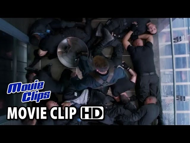 Captain America: The Winter Soldier CLIP - Elevator (2014) HD
