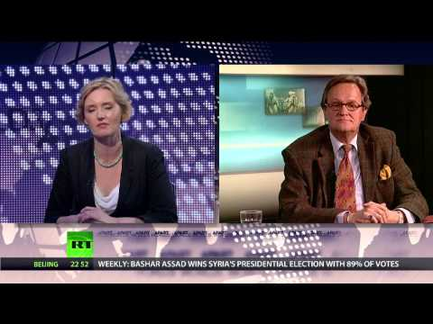 'US empire collapsing; over-stretched, over-militarized' - Peace researcher Dr Jan Oberg