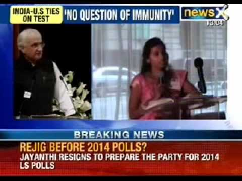 Salman Khurshid hits on US govt. on Devyani case - NewsX