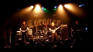 CORONER - 'Reborn Through Hate' LIVE Australia 2014 June