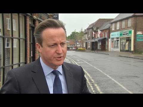 David Cameron Reflects On European Election Results
