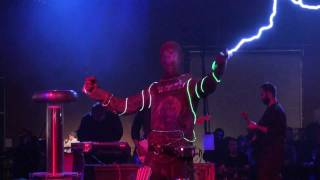 Doctor Who Theme Song Played on Tesla Coils