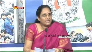 Vasireddy Padma's Press Meet Over ED Attaching YS Jagan Properties