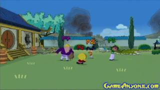 Let's Play: Xiaolin Showdown - PS2 - Stage 1 The Temple Garden - Part 1/2 view on youtube.com tube online.