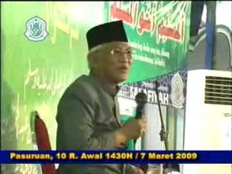 KH. Abdul Hamid Pasuruan: Gus Mus,Haul Tahun 2009