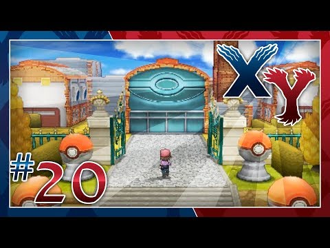 Pokémon X and Y Walkthrough - Part 20: The Pokéball Factory's Capture
