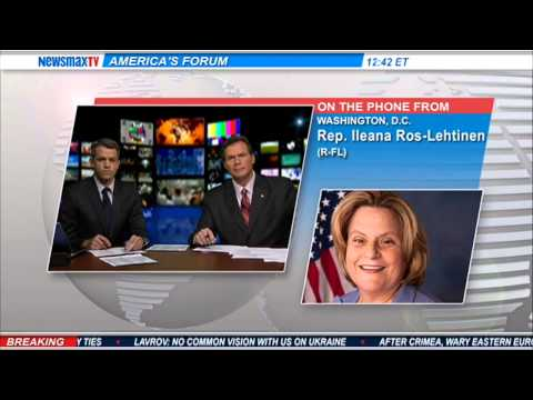 Rep. Ileana Ros-Lehtinen -- The Florida Congresswoman