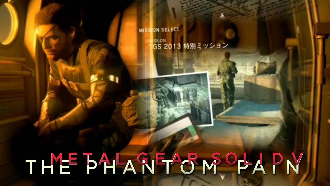 Metal Gear Solid 5: The Phantom Pain - TGS 2013 PS4 Demo Walkthrough (Day)