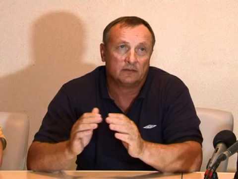 Портовик - Шахтер. Пресс-конференция_27.09.11