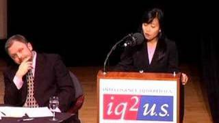 Affirmative Action Debate: Khin Mai Aung  5/14- Intelligence Squared