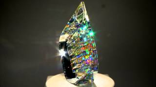 Optical Glass Sculptures by fine art glass artist Jack Storms - The Glass Sculptor