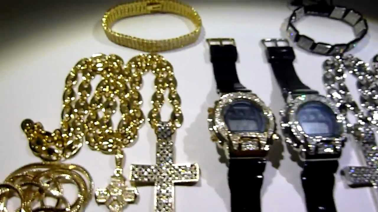 sold 275 12 piece wholesale deal hip hop cross watch
