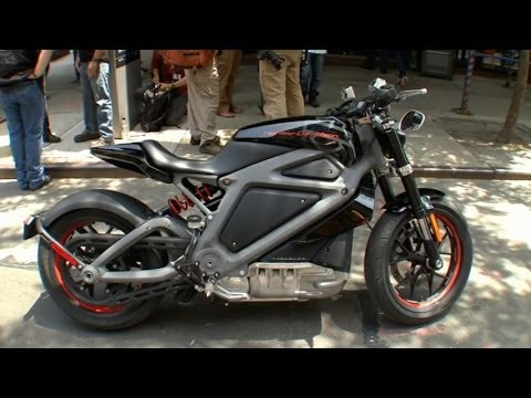 Harley-Davidson Unveils Electric Motorcycle