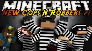 Minecraft Mini-Game : THE NEW COPS N ROBBERS ROUND 7!