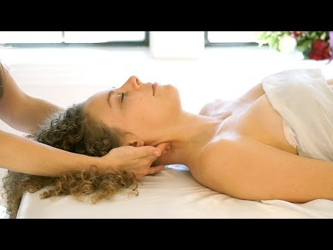 Most Relaxing Head Massage Ever. How to Massage The Head, Neck & Face, ASMR