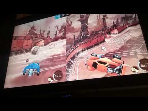 Rocket league gameplay by lapro and lapro2