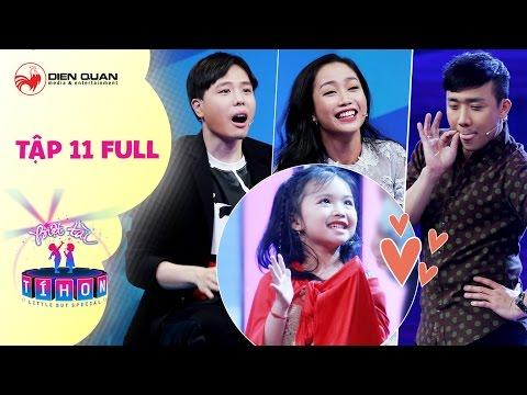 Biệt tài tí hon | tập 11 full hd: Trịnh Thăng Bình, Trấn Thành hết hồn với cô bé hát chế