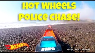 Hot Wheels PD Police Chase - The Robber!