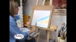 Aprende la técnica para pintura al óleo