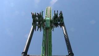 Green Lantern: First Flight Off-ride HD Six Flags Magic