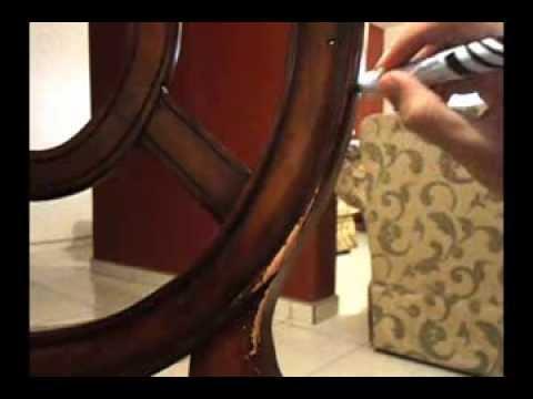 Como reparar o restaurar madera en casa youtube - Como reparar madera ...