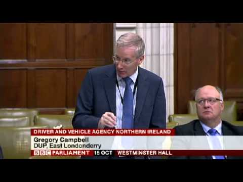 Sammy Wilson - DVA Jobs Debate at Westminster