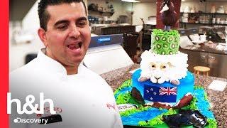 ¡Un pastel de kiwi para los kiwis!   Cake Boss   Discovery H&H