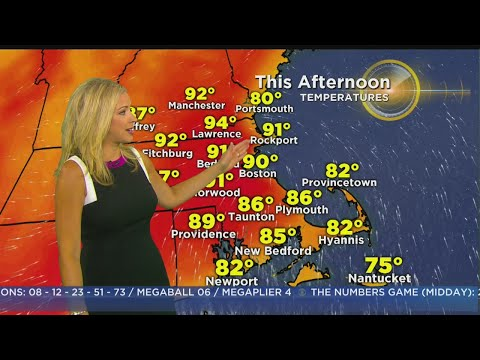 WBZ Morning Forecast For July 19