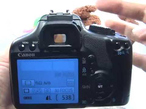 Canon XSi/450D: Auto Mode