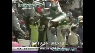 Shahid Afridi 100 Vs India