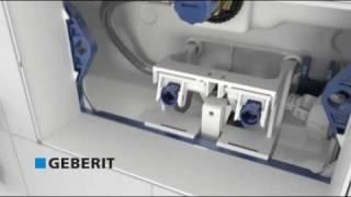 Geberit inbouwreservoir vlotter afstellen