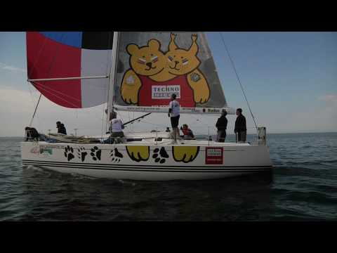 X-41 Yachts Estonian Open may 2010; upwind mark & downwind