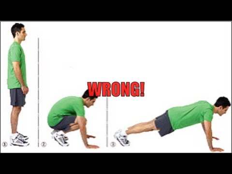 Burpees: How to Do The Perfect Burpee