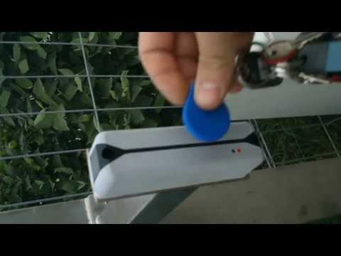 TBA4000RF con testina remota Rfid per controllo accessi veicolare