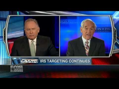 Ron Paul: IRS Notorious For Targeting Political Enemies
