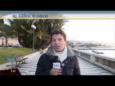 Dal lungomare di Sanremo intervista a Carlo Conti