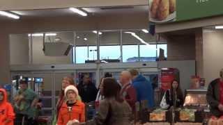 Christmas Flash Mob Walmart, Horseheads, NY