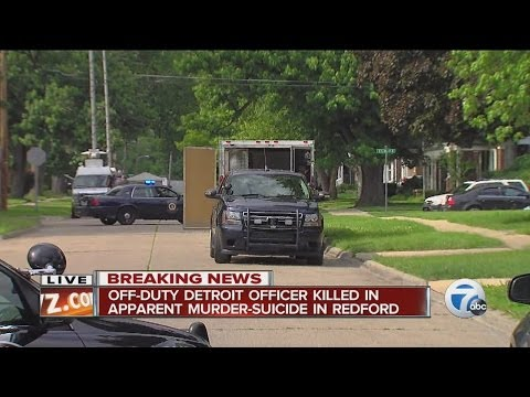 Detroit cop killed by husband in murder-suicide