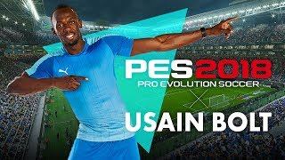 PES 2018 - Usain Bolt Reveal Trailer