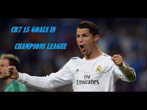 Cristiano Ronaldo's 15th goal in the Champions League (WORLD RECORD)